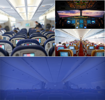 Custom Aircraft Interior & Technology - Aerodesign Services - aero-collage